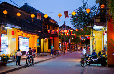 Hoi An Streets at Night, Vietnam